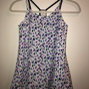 Tank top (patterned)